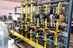 Warm up Burners & Control Valve Rack